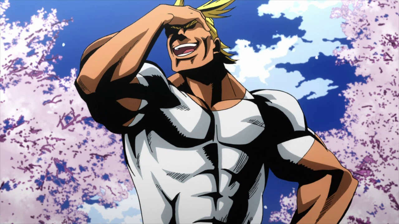Boku no hero academia review brutal gamer - And He Loves No Hero More Than The Legendary All Might