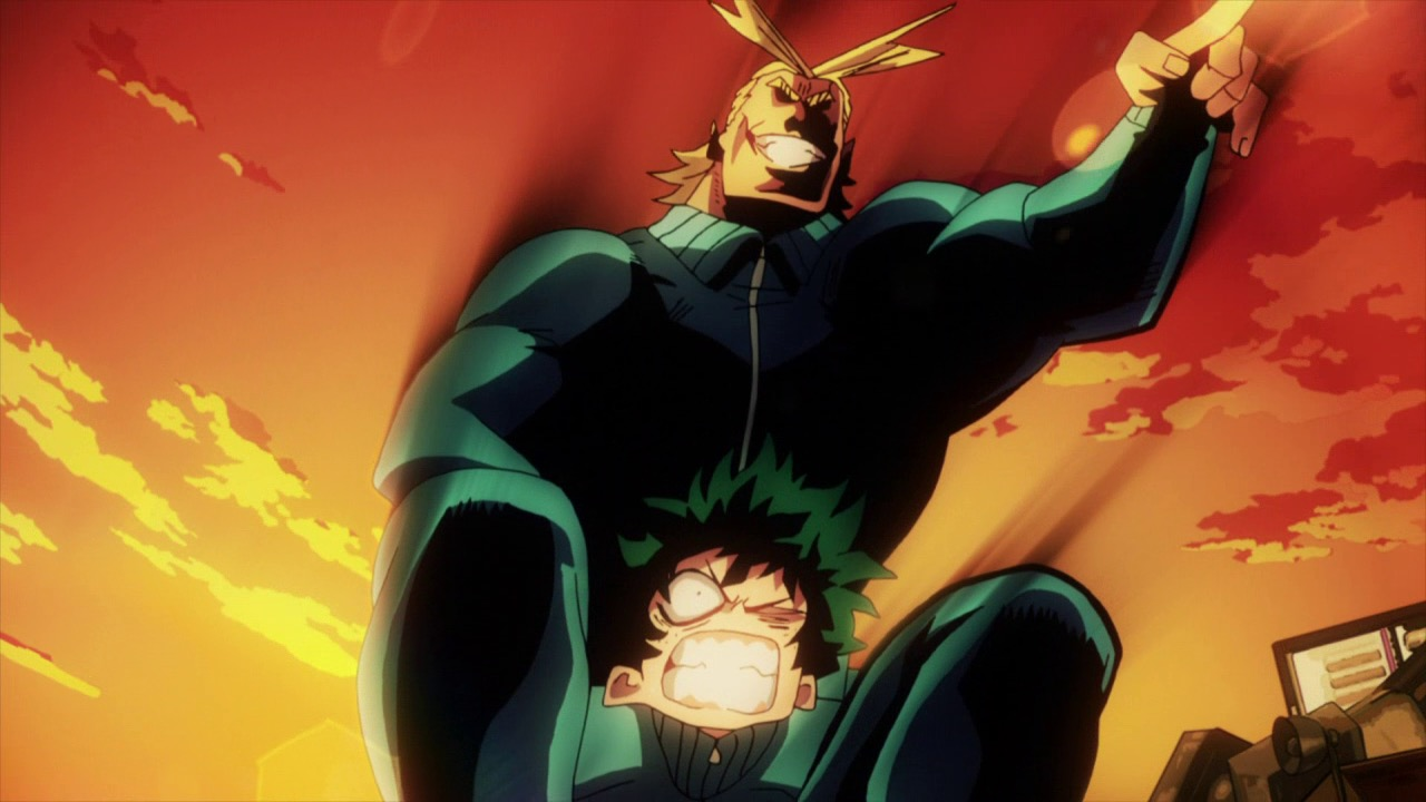 Boku No Hero Academia All Might And Deku