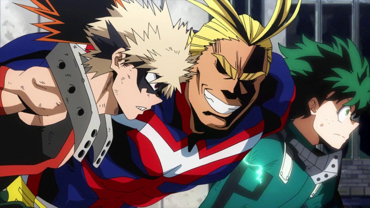 boku no hero academia anime