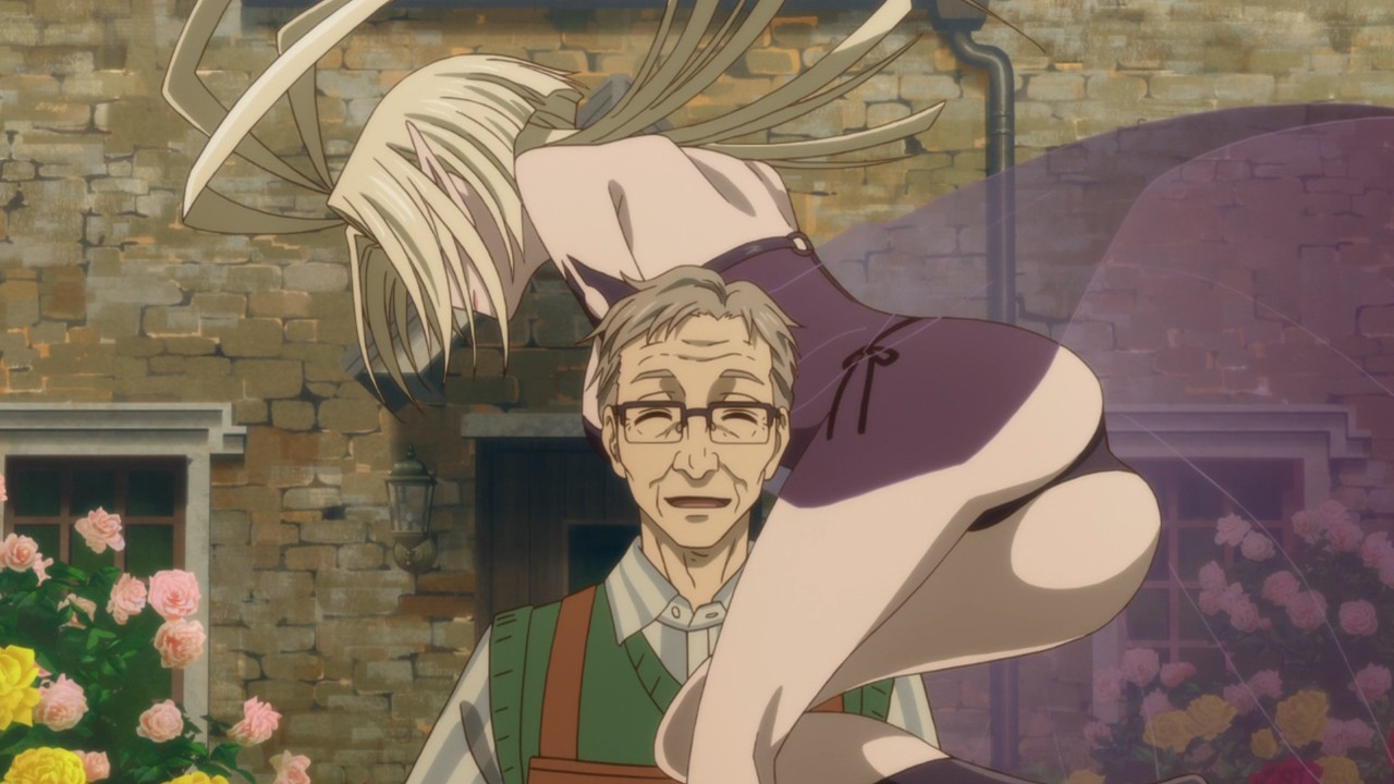 Mahoutsukai No Yome 09 Lost In Anime