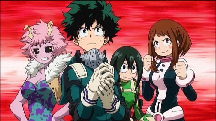 My Hero Academia: Training of the Dead (Boku no Hero Academia – Training of the Dead)