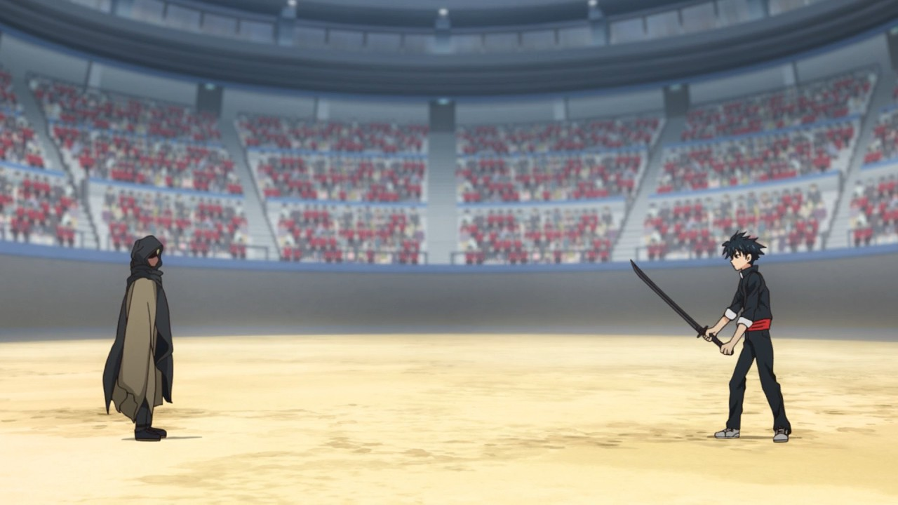 Ban Uchiha vs. Vulo Hyuuga UQ-Holder-10-19