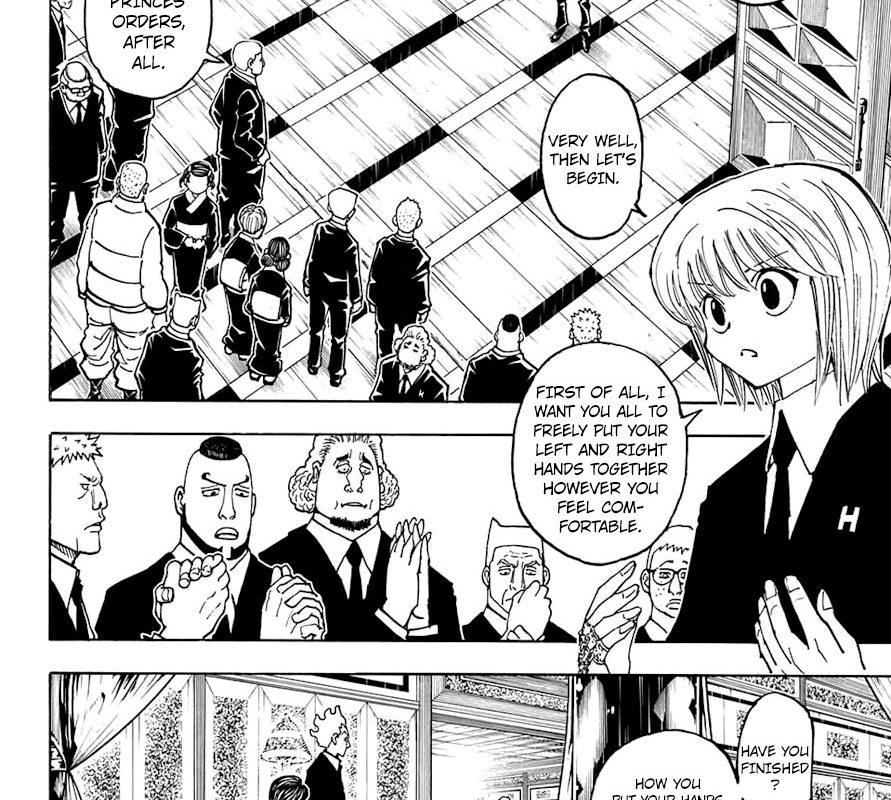 Hunter x hunter hentai manga