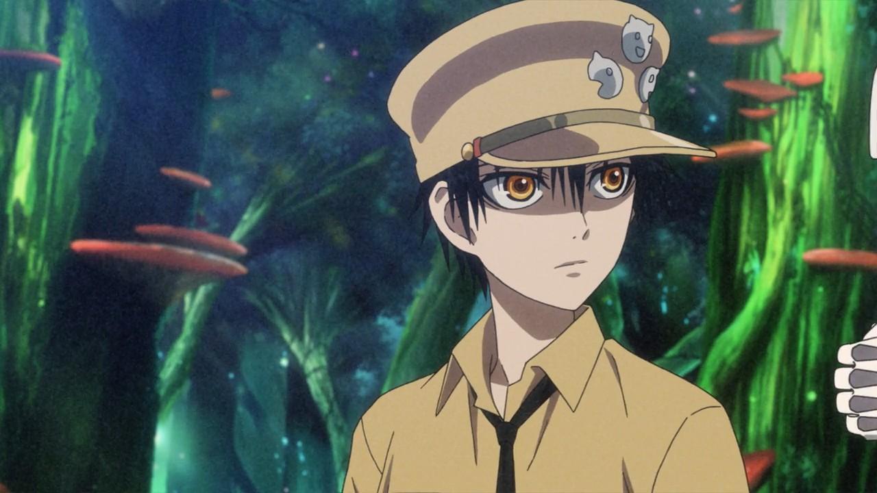 """Внешний вид Иньё из аниме """"Магмел синего моря"""" (Gunjou no Magmel)."""