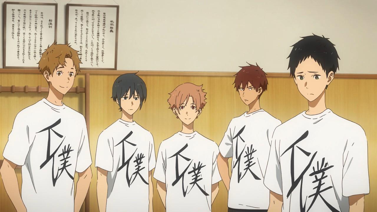 Tsurune: Kazemai Koukou Kyuudoubu - Yabai (OVA) - Lost in Anime