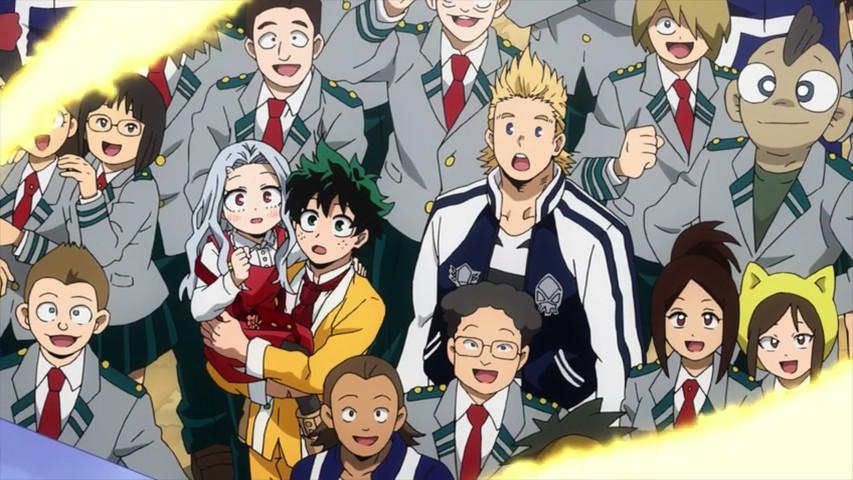 Boku No Hero Academia Season 4 23 Lost In Anime