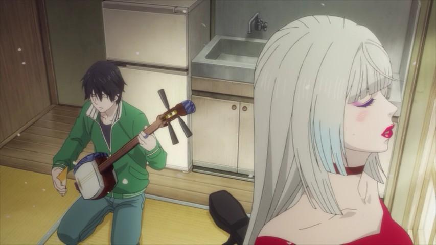 Mashiro no Oto episode 2 Those Snow White Notes Setsu and his mom